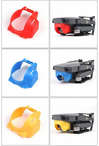 Защита объектива синяя для dji combo комплект летай больше для бпла mavic combo
